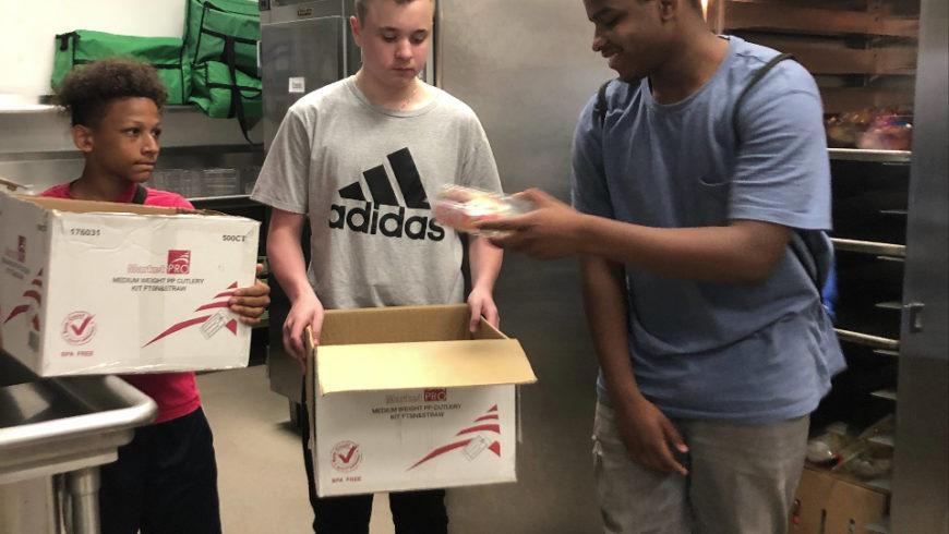 FSMA donates leftover meals!